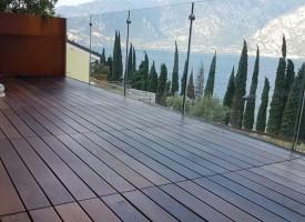 Trattamento di oliatura pavimento esterno