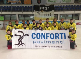 Confort Pavimenti sponsorizza Hockey Club Pinè