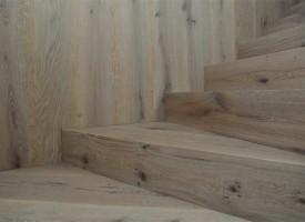 Scala in legno Rovere